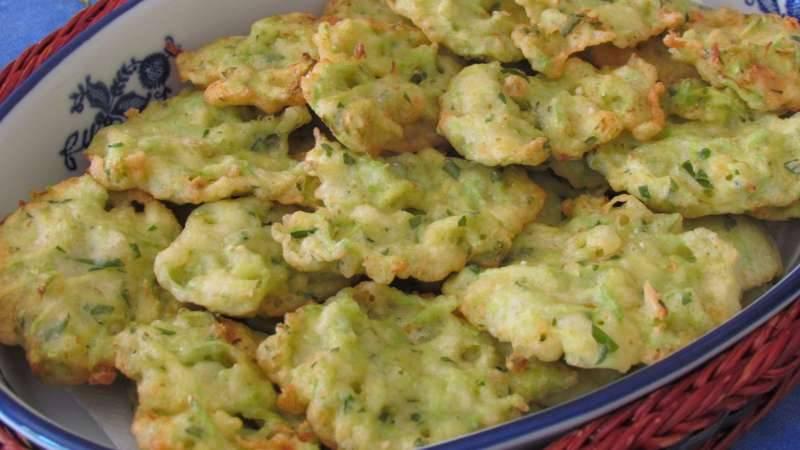 frittelle di zucchine senza uovo