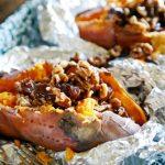 patate americane al cartoccio